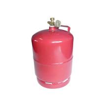 Cylindre de gaz de LPG et réservoir de gaz en acier (AS-LPG-3KGC)