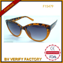 Trade Assurance Cat Eye Sun Glasses for Women (F15479)