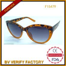 Óculos de sol comércio garantia gato olho para as mulheres (F15479)