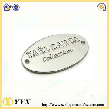 Garment ccessories metal logo tag&name plate