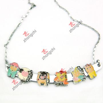 Щепка скользкой панели ожерелье для моды Jewellry (SN-01)