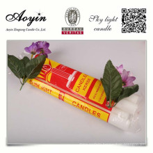 Plastic bag packing household candles for sale
