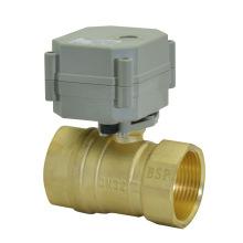 1 válvula de esfera de bronze do atuador elétrico do 1 / 4''230V (T32-B2-C)