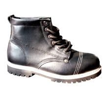 Comfortable Mens Black Construction Safety Composite toe safety Boots work Shoes