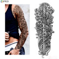Aangepaste Full Arm Tattoo Stickers voor mannen