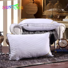Hotel linen/high quality polyester fiber filled hotel pillows for sleeping