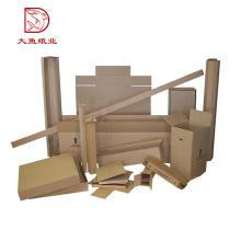 Embalaje barato a granel al por mayor del cartón acanalado del tamaño modificado para requisitos particulares