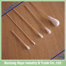 cotonete de algodão descartável vara, cotonetes