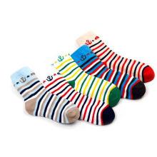 Children Socks with Pattern Patknitted in Child Boy Socks Models