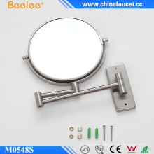 Stainless Steel Make up Bathroom Magnifying Decorative Wall Mirror