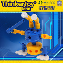 Thinkertoyland 3+ Niños DIY Free Build Robot de juguete