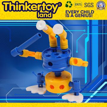 Thinkertoyland 3+ Niños DIY Free Build Robot de juguete