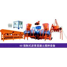 60t/H Mobile Asphalt Mixing Plant