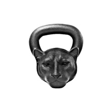 Kettlebell 26 LB Panther Animal Face