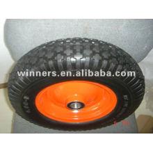 rueda de la espuma de la PU de la carretilla 4.00-8
