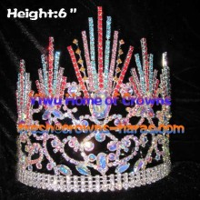 6inch Colorful Wholesale Pageant Crowns
