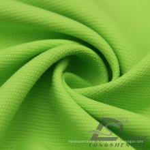 Vêtement de sport extérieur résistant à l'eau et au vent en bas de la veste Woven Honeycomb Jacquard 100% Polyester Pongee Fabric (E060)