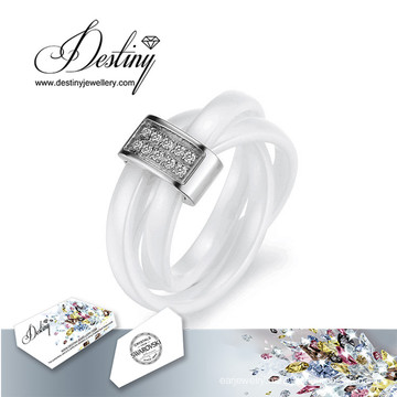 Destiny Jewellery Crystals From Swarovski Ceramic Ring