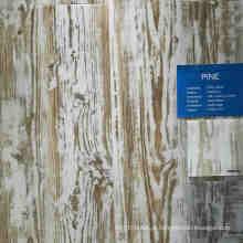 Revestimento plástico de madeira profundo do PVC do vinil da cor do pinho