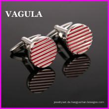 VAGULA Qualität Großhandel Linien Manschettenknöpfe (HL10142)