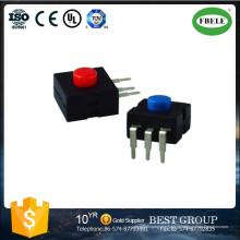 Mini Interruptor de Botão de pressão, Pequeno Interruptor de Botão com LED, um Interruptor de Lâmpada de Mineiro Interruptor Dedicado Lanterna Pode Escolher Multi-Função