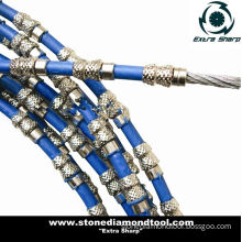 Spring Bond Diamond Wire Saw for Cutting