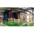 Linha de produção de modelo de construção automática completa