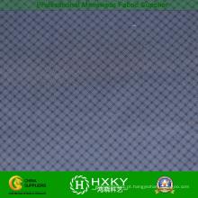 Faixa multi verifica tecido poliéster impresso para Men′s sobretudo