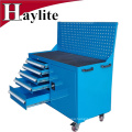 car repair trolley tool box with trolley tool set