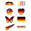 National flag tattoo sticker for sale