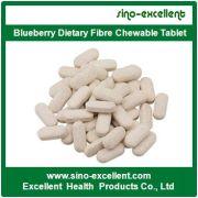 Compressa masticabile di fibra dietetica di mirtillo