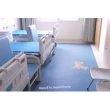 Plancher médical professionnel homogène en PVC