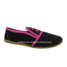 Zapatos planos de la inyección de la suela exterior del PVC de las mujeres de China (J2610-L)