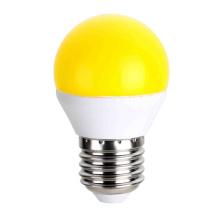 Ampoules de LED couleur jaune G45 5W AC175 ~ 265V