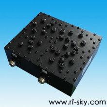 Filtro de fenda FX-547-617-100 do tipo do conector da escala de freqüência NK de 547-617MHz
