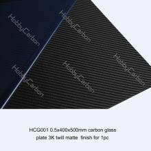 0.5x250x400装飾面炭素ガラスシート