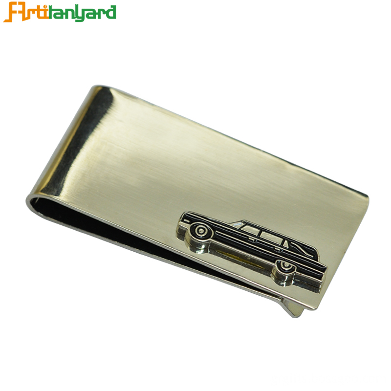 Metal Money Clip Wallet