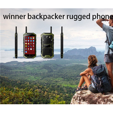 Backpacker robustes Telefon