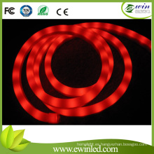 12V / 24vrgb Colorful LED Soft Neon Flex con efecto de corriente