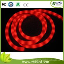 12V / 24vrgb flexible coloré au néon LED avec effet de flux