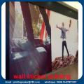 Impressão de papel de parede personalizada para publicidade ou decoração