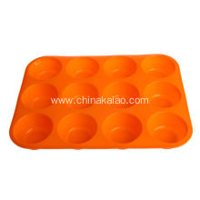Custom Cupcake Mold Silicone Baking Tray
