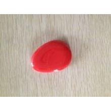 Grânulo de vidro vermelho, produto do aquário, brinquedos do peixe