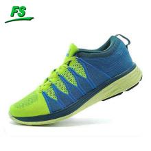 2015 flyknit running shoe, flyknit sport shoe 2015, woven fabric running shoe