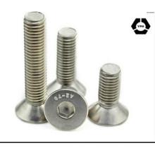 DIN7991 Carbon Steel Hex Socket Countersunk Screws