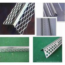 Galvanzied Eckperlen schützen Mesh / Aluminium Perforierte Winkel Perle