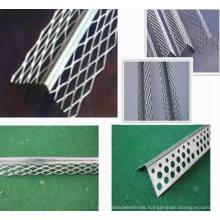 Galvanzied Corner Beads Protect Mesh/Aluminum Perforated Angle Bead