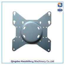 Peça de perfuração para gaiola de rolamento e placa giratória de rolamento