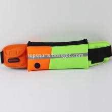 Custom Neoprene running waist belt bag design