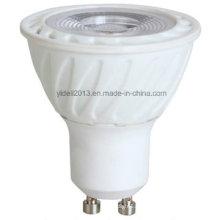 Nuevo 7W 450lm 3500k, blanco cálido, ángulo de haz 60deg, iluminación de carril, bombillas GU10 MR16 LED
